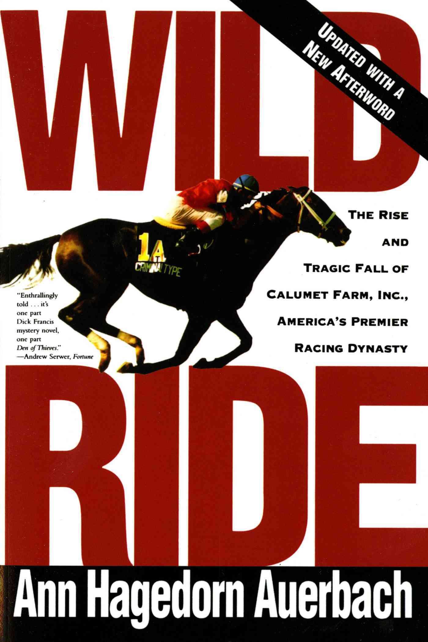 Wild Ride By Auerbach, Ann Hagedorn